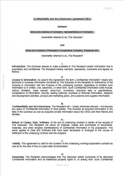 16 Non Disclosure Agreements Ndas Ideas Non